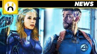 John Krasinski & Emily Blunt for Fantastic Four in the MCU
