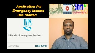 Application For Emergency Income Has Started