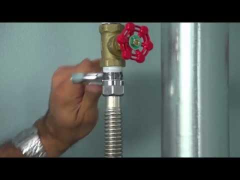 How to Install a BrassCraft FIP x FIP Water Heater Connector