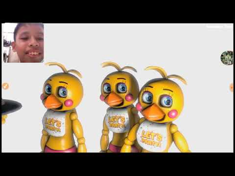 Reacting to funny fnaf animation