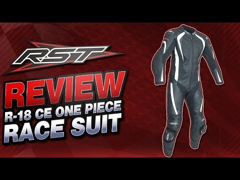 RST R-18 CE One Piece Leather Race Suit Review | Sportbike Track Gear