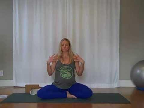 Prenatal Yoga for Upper Back and Shoulders