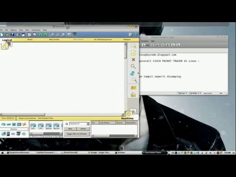 Install Cisco Packet Tracer di Linux