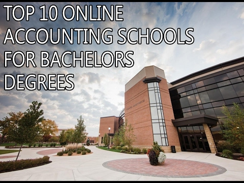 Accredited Online Accounting Degree | Top 10 Online Accounting Schools for Bachelors Degrees