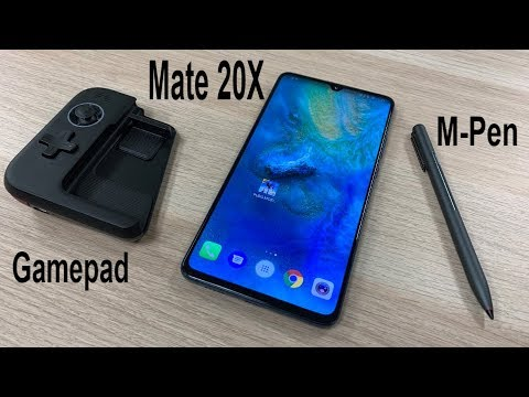 Hands-on with the Huawei Mate 20 X Gamepad and M-Pen Accessories