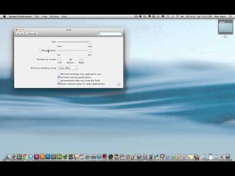 How To Customize Your Dock on a Mac (Size, Animation, and Location)