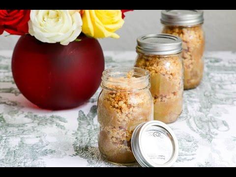 Apple Crisp in a Jar