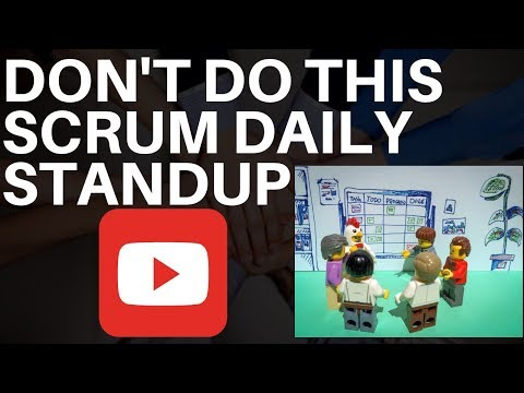 DONT DO THIS IN SCRUM DAILY STANDUP