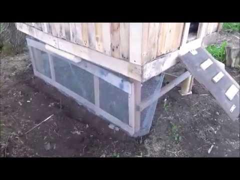 Pallet Chicken Coop