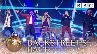 The Backstreet Boys remix their greatest hits - BBC Strictly 2018