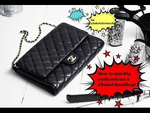 Chanel Bags: How to quickly authenticate a handbag!
