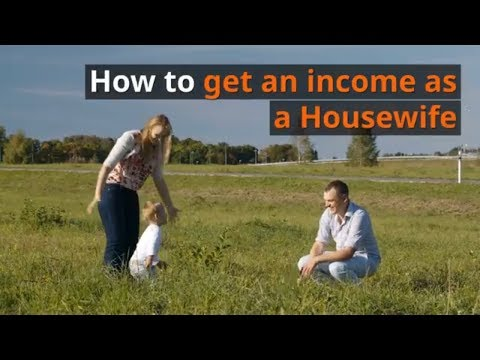 The benefits you can claim as an income if you are a Housewife or Househusband