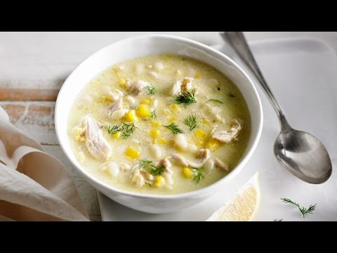 Creamy Orzo, Cream and Chicken Soup | Anyday Magic