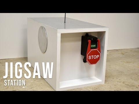 How to make a inverted jigsaw table