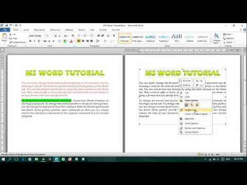 How to Paste Linked Picture in MS Word