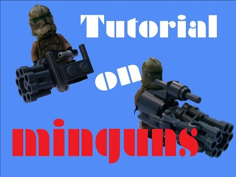 Lego Minigun | Tutorial