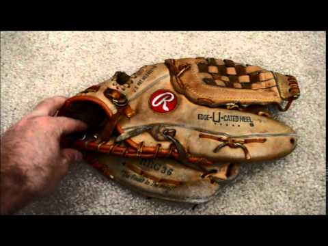 Rawlings RBG36 Baseball Glove Relace - Before and After Glove Repair