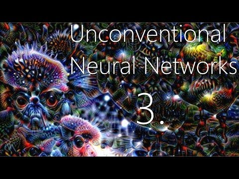 Generating with MNIST - Unconventional Neural Networks p.3