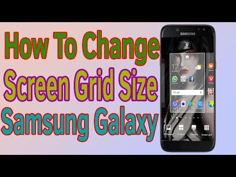 How To Change Screen Grid Size On Samsung Galaxy J1 J2 J3 J5 J7 Helping Mind