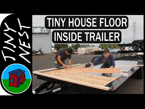 Tiny House Floor Construction