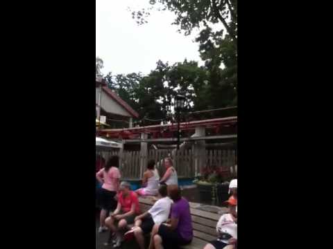 Hershey parks two fast rides!