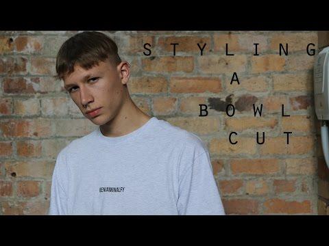 How to style a bowl cut | Men's best bowl cut hairstyle | Zac Macfarlane