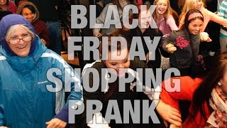 BLACK FRIDAY SHOPPING PRANK 2015! with Jacksfilms
