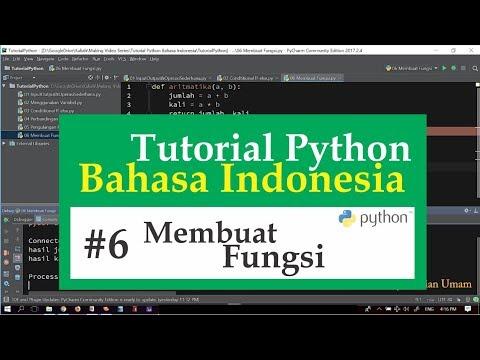 06 Tutorial Python Bahasa Indonesia - Membuat Fungsi