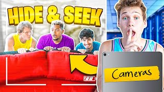 I Cheated In Hide And Seek With Security Cameras!