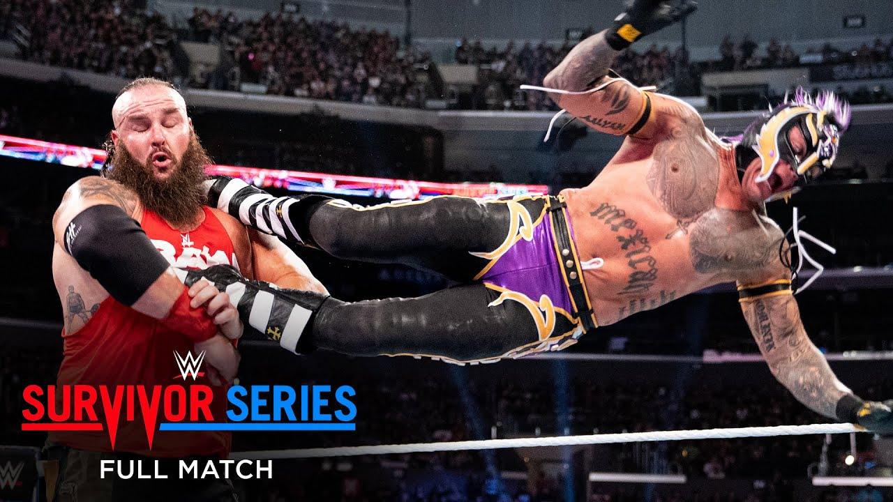 FULL MATCH - Team Raw vs. Team SmackDown - Men's 5-on-5 Elimination Match: Survivor Series 2018