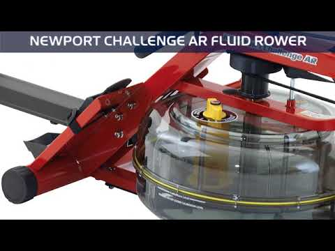 Lifestyle Video | Newport Challenge AR | Indoor Rower by First Degree Fitness | Dazadi.com