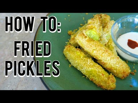How To Make Fried Pickles [ MUST TRY- EASY ]