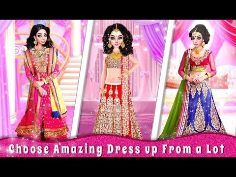 Indian Designer Sarees Fashion Salon For Wedding | gopi doll fashion salon | gopi doll games | game
