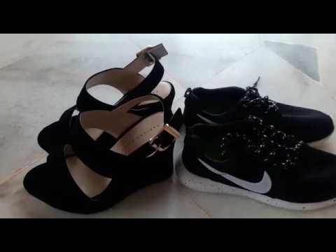 MOOC - Comparison between wedges and sport shoes