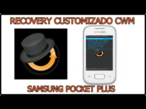 Como instalar recovery customizado CWM no pocket plus (FÁCIL)