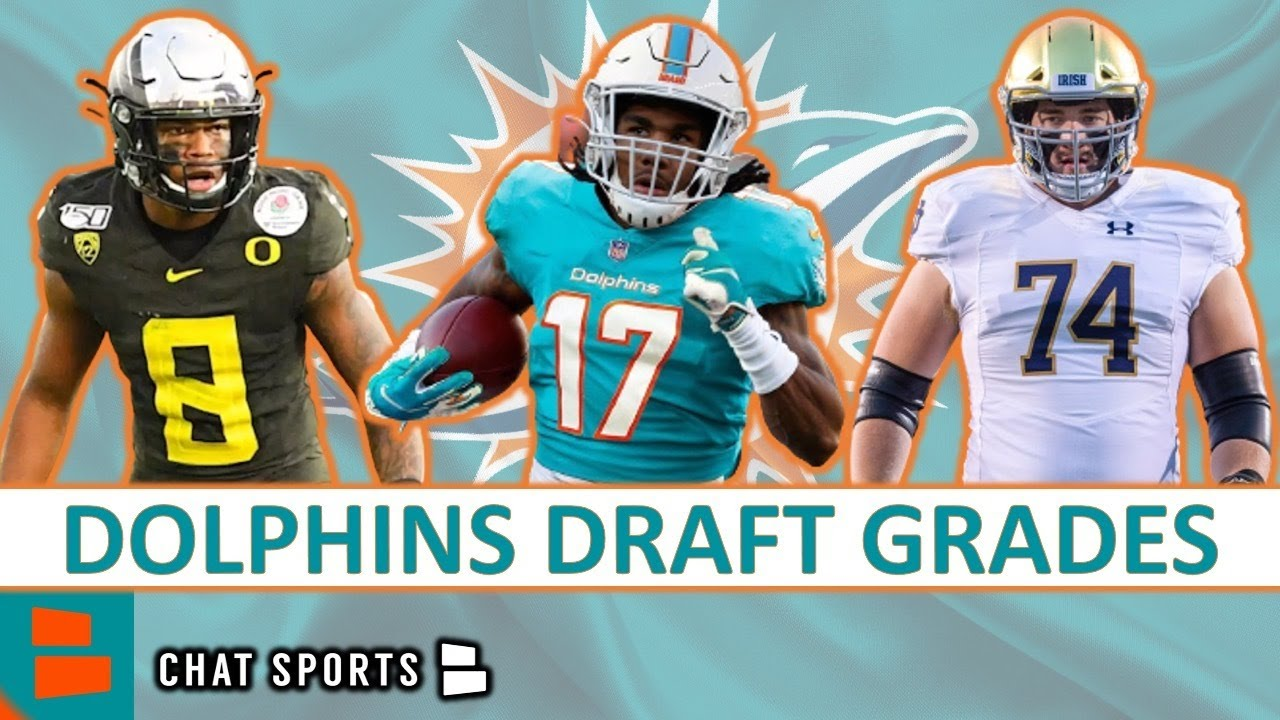 Dolphins Draft Grades: All 7 Rounds From The 2021 NFL Draft Ft. Jaylen Waddle & Jaelan Phillips