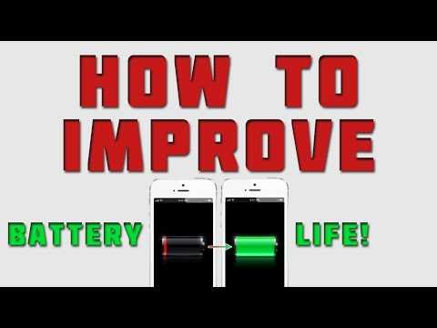 9 Crucial Tips to Save iPhone Battery Life! (iOS 7 / iOS 8)