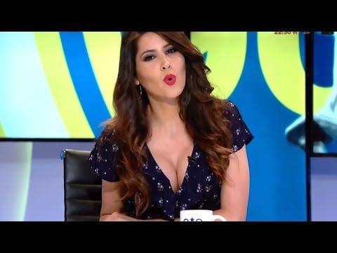 A Graciela Alvarez Se Le Rompe El Boton De La Blusa En Directo