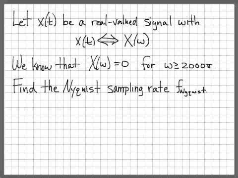 Nyquist Sampling Problem 02