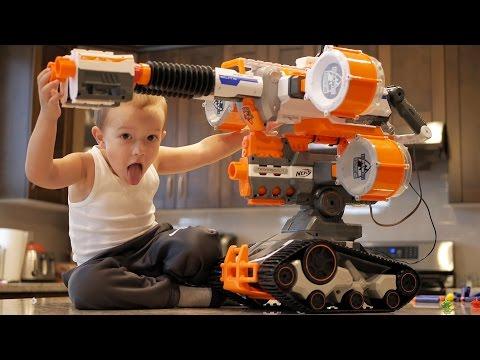 Nerf War: Gun BABY 4!