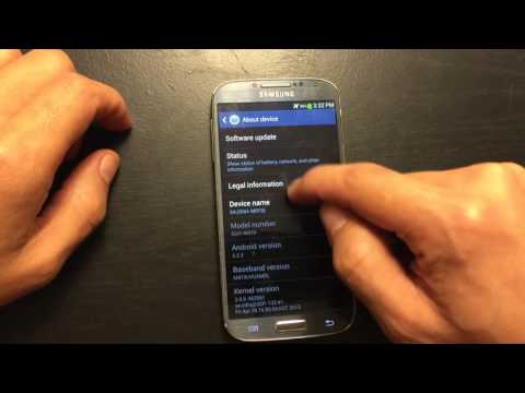 GALAXY S4: TWO WAYS TO FIND YOUR IMEI (ESN)  NUMBER