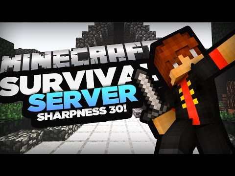 SHARPNESS 30!?! - GIVEAWAY+VEHICLES+BEST SURVIVAL SERVER EVER! - MCCAVERNS.COM