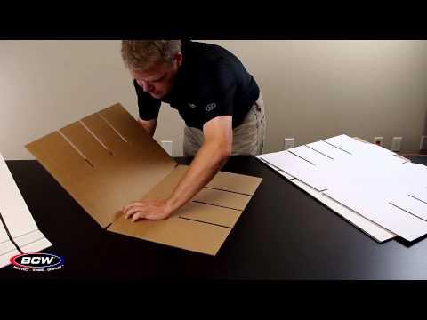BCW Card House Storage Box