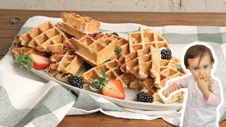 Blender Waffles Recipe (Mia Approved!) | Episode 1255