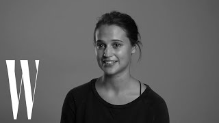 Alicia Vikander Reveals Why 'Blue Valentine' Made Her Cry | Screen Tests | W Magazine