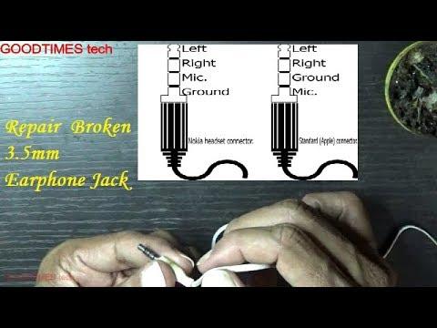 How to Repair or FIX | Earphone Jack | Headphone Jack | 3.5mm Jack