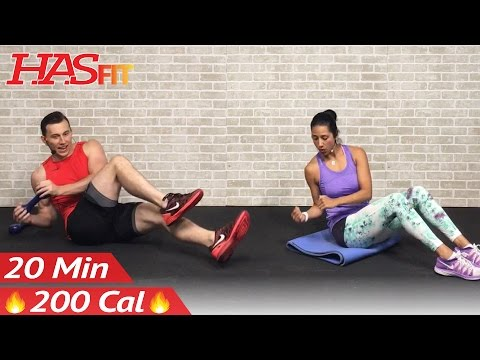 20 Minute Ab Workout for Women & Men - 20 Minute Abs Workout for People Who Get Bored Easily at Home