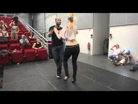 Dominican Bachata Intermediate with Frank Santos and Julie Camous at KOB 2012