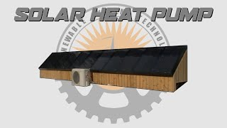 ☀️ Build A Solar Heat Pump System - Plans Available 📄