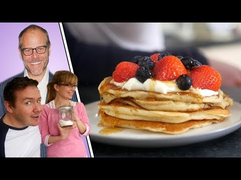 MVK tries #4 Alton Brown Pancake Recipe